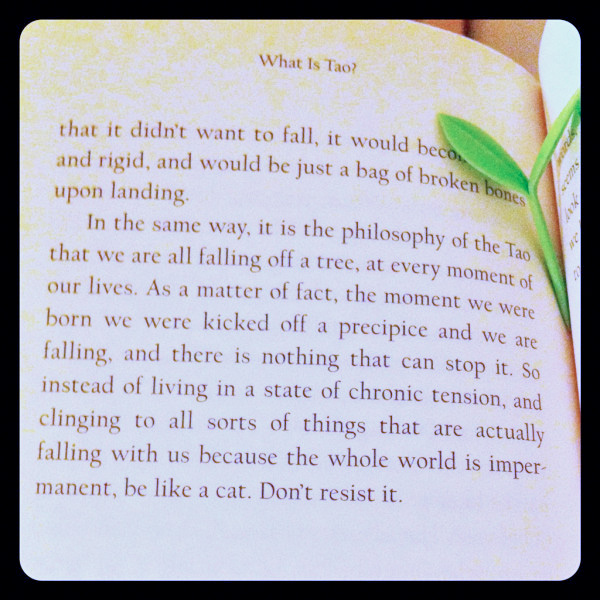 Alan Watts, a page.